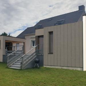 Extension d'une maison à Ligné