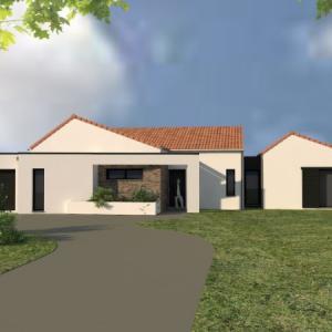 Création d'une maison à Ligné
