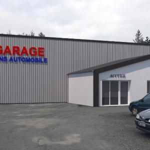 Création d'un garage automobiles à Jans