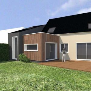 Extension d'une maison à Ancenis
