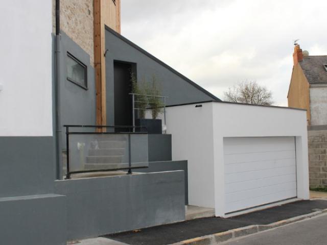 Rénovation et extension d'une maison à Nantes