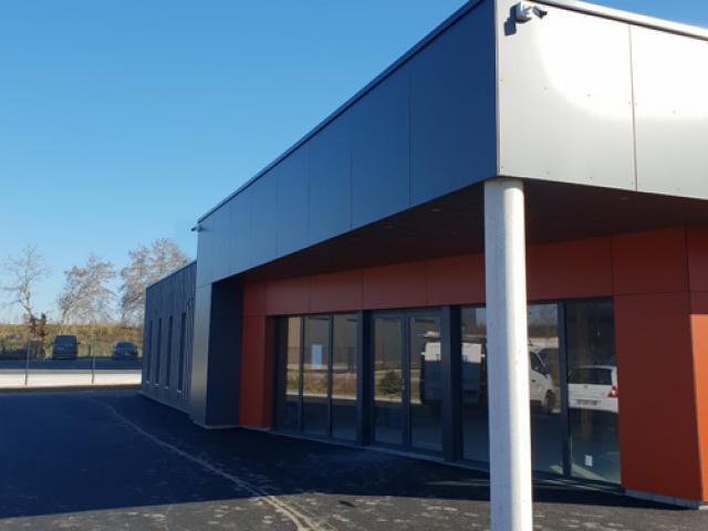 Création d'un bâtiment pour Show-room d'artisan à Carquefou