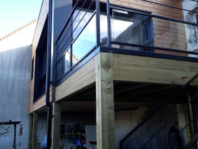 Extension d'une maison à Orvault