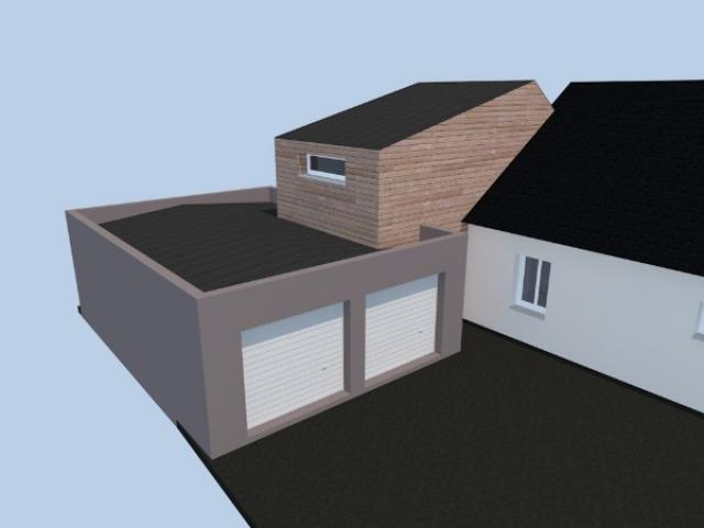 Extension d'une maison à Joué-sur-Erdre