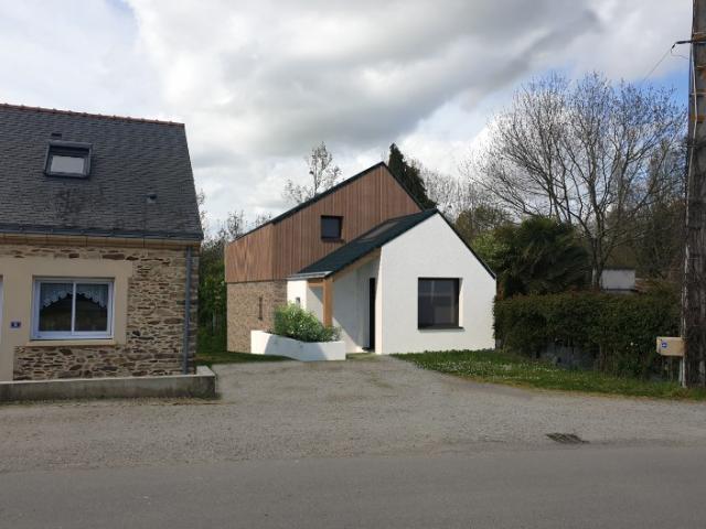 Extension d'une maison à Nort-sur-Erdre.