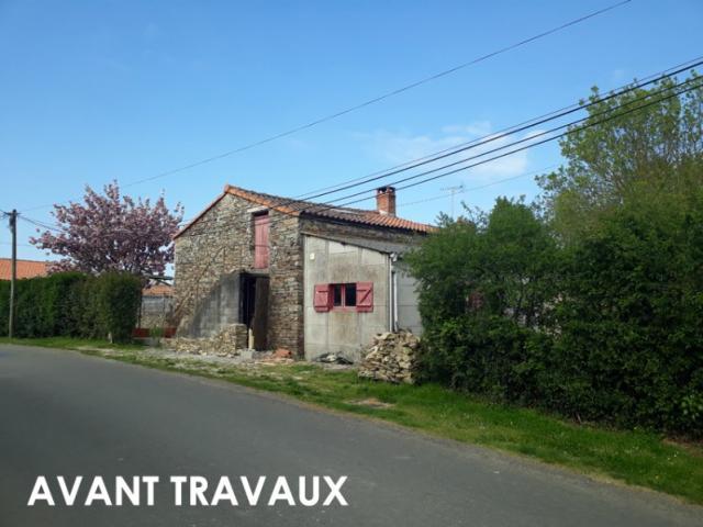 Rénovation et extension d'une maison à Ligné (44)