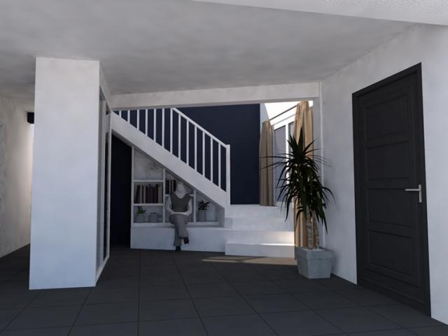 Aménagement d'une escalier